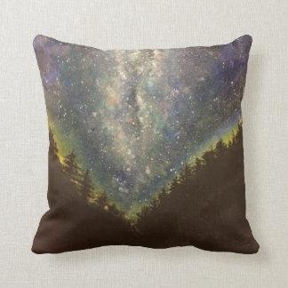 Almofada Travesseiro decorativo da noite estrelado