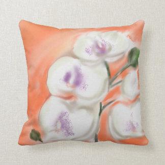 Almofada Travesseiro decorativo da orquídea