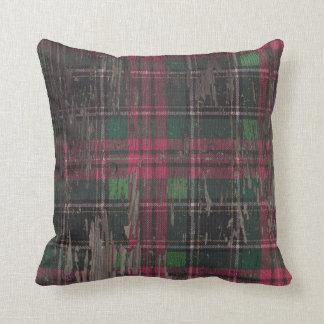 Almofada Travesseiro decorativo de madeira rústico da