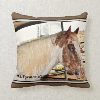 Almofada Travesseiro decorativo do acento do cavalo dos