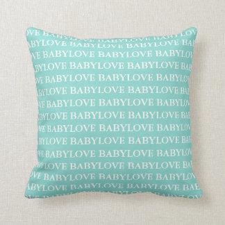 Almofada Travesseiro decorativo do bebê do amor do bebê
