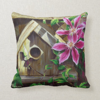 Almofada Travesseiro decorativo do Birdhouse 0003 & do
