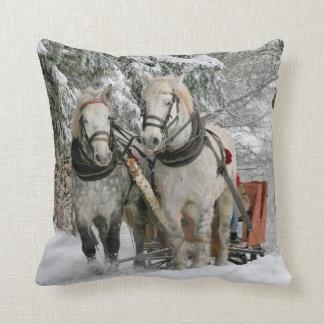 Almofada Travesseiro decorativo do cavalo