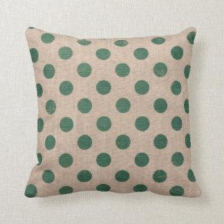 Almofada Travesseiro decorativo do estilo verde de