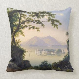 Almofada Travesseiro decorativo do mar de Isola Bella do
