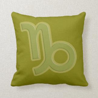 Almofada Travesseiro decorativo do verde do zodíaco do