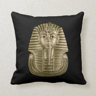 Almofada Travesseiro decorativo dourado do rei Tut