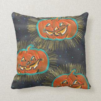 Almofada Travesseiro decorativo estrelado do Dia das Bruxas