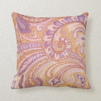 Almofada Travesseiro decorativo malva roxo do desenhista do