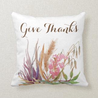 Almofada Travesseiro decorativo rústico do trigo da queda