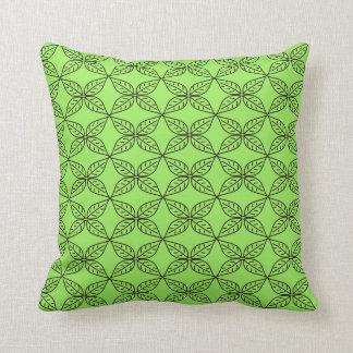 Almofada Travesseiro decorativo verde à moda do teste