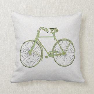 Almofada travesseiro decorativo verde branco legal da