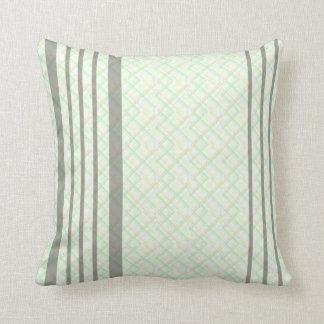 Almofada Travesseiro decorativo verde do poliéster das