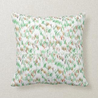 Almofada Travesseiro do design da grama verde
