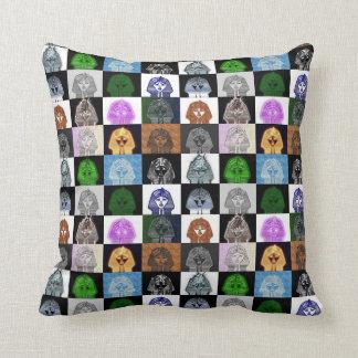 Almofada Travesseiro do pop art do rei Tut