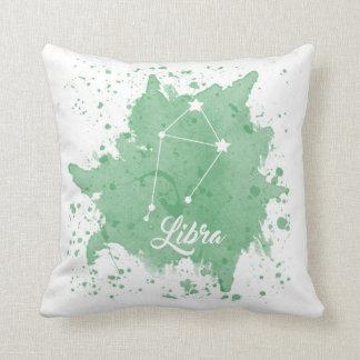 Almofada Travesseiro do verde do Libra