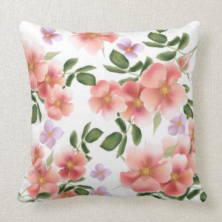 Almofada Travesseiro floral da decoração da casa do teste