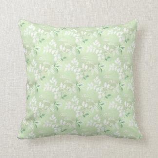 Almofada Travesseiro floral verde Pastel