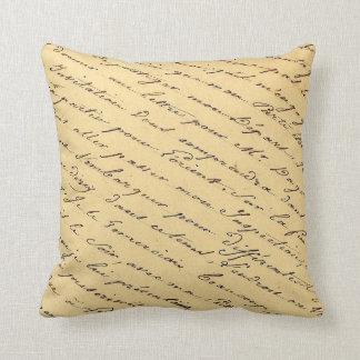 Almofada Travesseiro FRANCÊS das COISAS EFÊMERAS do ROTEIRO