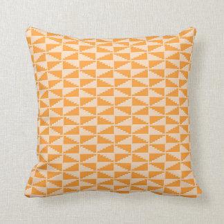 Almofada Travesseiro geométrico do teste padrão na