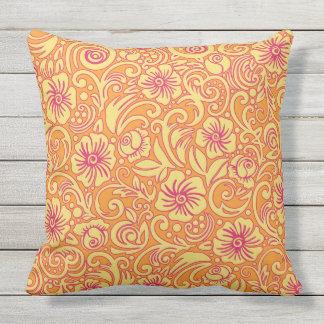 Almofada Travesseiro ideal floral do teste padrão da
