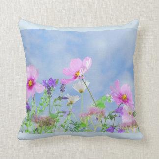 Almofada Travesseiro na moda da flor selvagem das mulheres