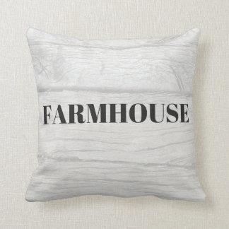 Almofada Travesseiro rústico da casa da quinta