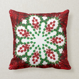 Almofada Travesseiro Spangly do Natal