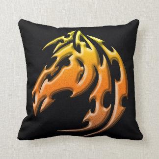 Almofada Travesseiro tribal lateral dobro do cavalo