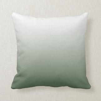 Almofada Travesseiro verde de Ombre do exército