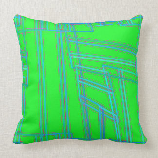 Almofada Travesseiro verde e azul dos Widgets