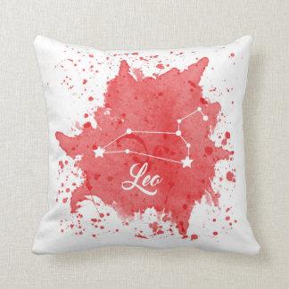Almofada Travesseiro vermelho de Leo