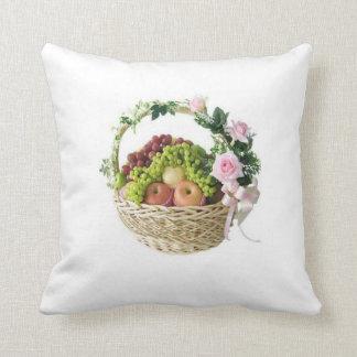 Almofada Travesseiros da cesta de frutas