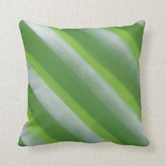 Almofada Verde listrado do travesseiro decorativo