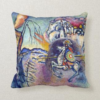 Almofada Wassily Kandinsky - St George & os cavaleiro