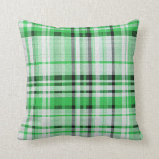 Almofada Xadrez verde