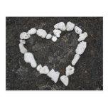 Aloha * amor * coração coral - customizável! cartão postal