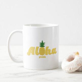 Aloha café do Hawaiian do orgulho Caneca De Café