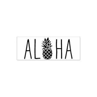 Aloha carimbo de borracha bonito, o presente