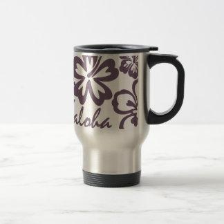 Aloha hibiscus cinzento