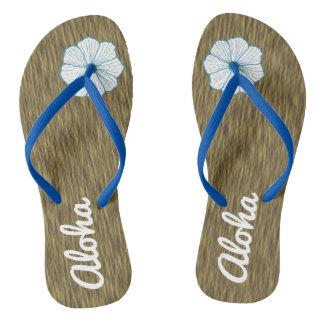 Aloha presente das sandálias dos chinelos da praia