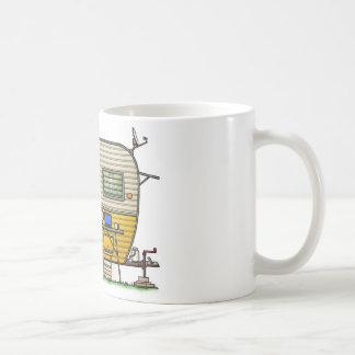Aloha reboque de campista caneca de café
