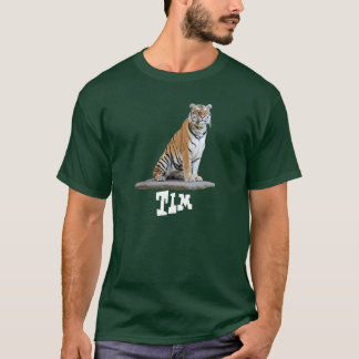 "alpargata ""tigre"" Calcular o tempo T-shirt"