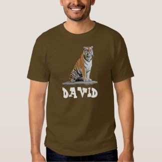 "alpargata ""tigre"" David Tshirt"