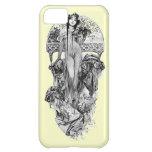 Alphonse Mucha-Escolhe a cor Capa Para iPhone 5C