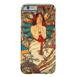 Alphonse Mucha Monte - caso do iPhone 6 de Carlo Capa iPhone 6 Barely There