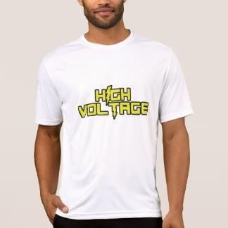 Alta tensão: T-shirt cabido Esporte-Tek do