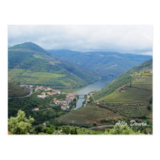 Alto Douro, património mundial pelo cartão do Cartão Postal