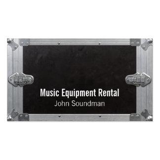 aluguer de equipamentos da música cartão de visita