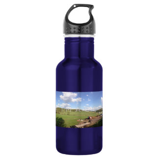 Alumínio panorâmico personalizado da foto garrafa